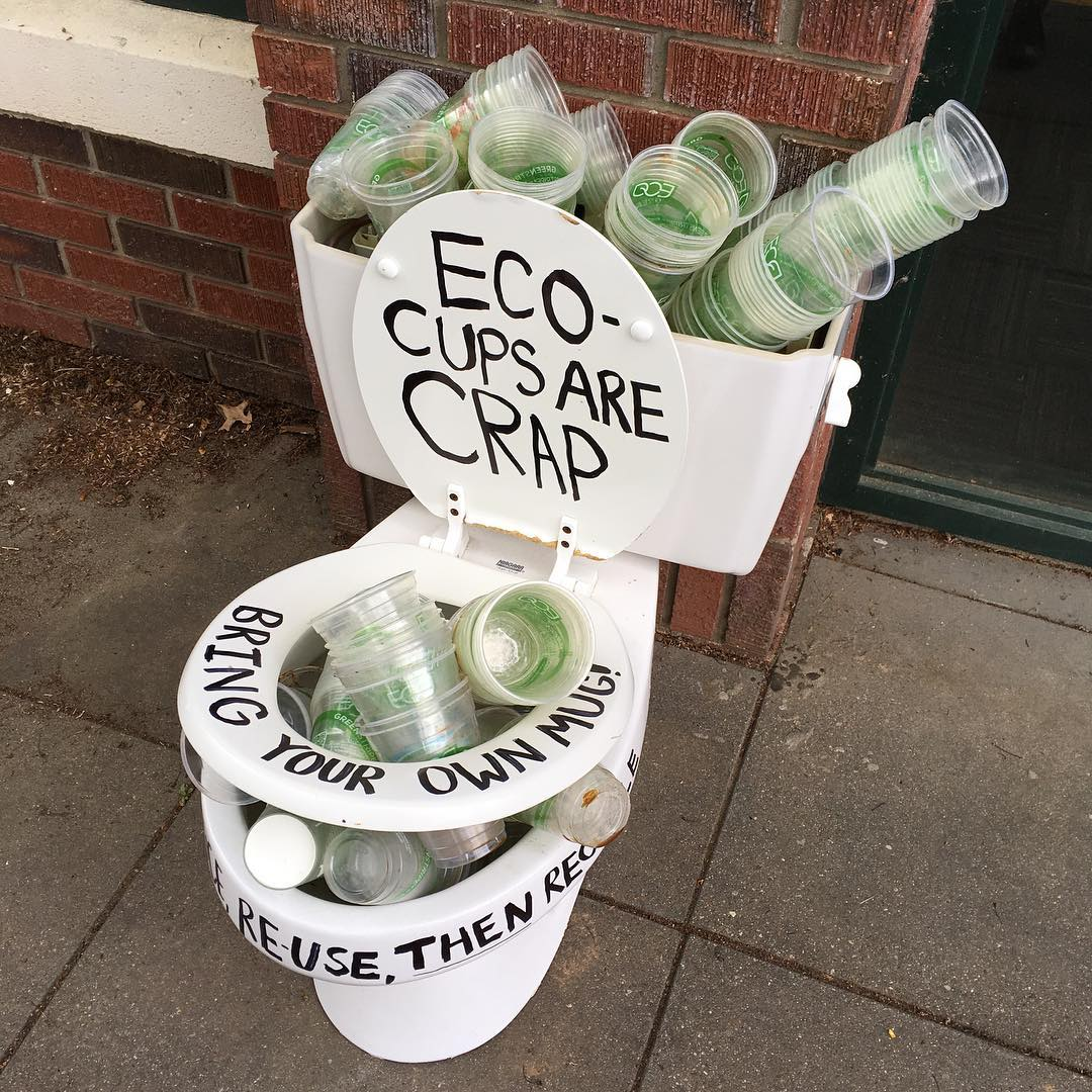 Lucien Rosenbloom - Eco-cups are crap